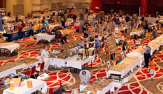 PulpFest 2015 dealers' room