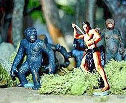 Tarzan playset