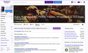 PulpMags in Yahoo Groups