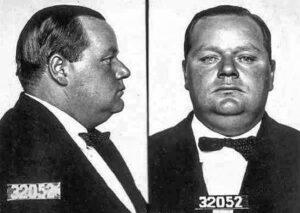 Fatty Arbuckle's mugshot