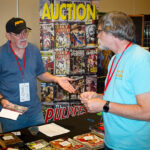 The dealers room at PulpFest 2017